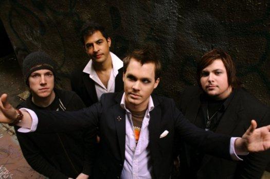 front:  Mason Taylor, l to r: Nate Lueck,  Ben Azar, Travis Abel.