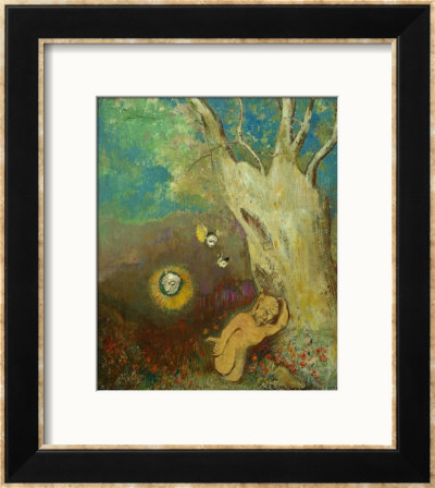 Caliban's Dream by Odilon Redon (French painter)