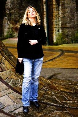 Paula posing